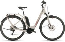 E-Bike Cube Touring Hybrid Pro 500 grey´n´red