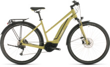 E-Bike Cube Touring Hybrid ONE 400 green´n´white