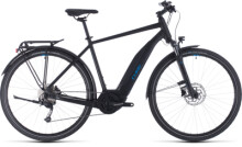 E-Bike Cube Touring Hybrid ONE 500 black´n´blue