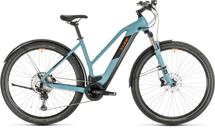 E-Bike Cube Cross Hybrid Race 625 Allroad blue´n´orange 2020