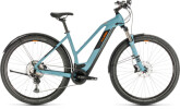 E-Bike Cube Cross Hybrid Race 500 Allroad blue´n´orange