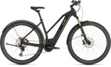 E-Bike Cube Cross Hybrid Race 625 Allroad black´n´green