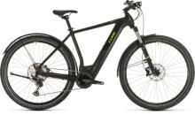 E-Bike Cube Cross Hybrid Race 500 Allroad black´n´green