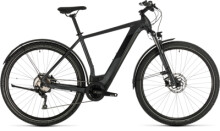 E-Bike Cube Cross Hybrid Pro 625 Allroad iridium´n´black