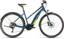 E-Bike Cube Nature Hybrid EXC 500 Allroad blue´n´lime
