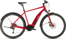 E-Bike Cube Nature Hybrid ONE 400 Allroad red´n´red