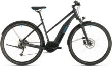 E-Bike Cube Nature Hybrid ONE 400 Allroad iridium´n´blue