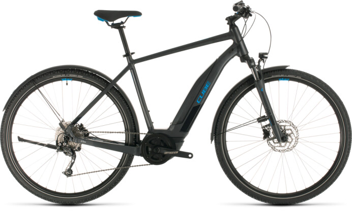 E-Bike Cube Nature Hybrid ONE 400 Allroad iridium´n´blue 2020