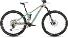 Mountainbike Cube Sting WS 120 PRO titan´n´mint