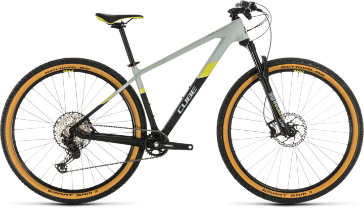 Mountainbike Cube Access WS C:62 Pro lightblue´n´lime 2020