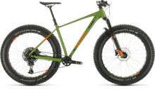 Mountainbike Cube Nutrail green´n´orange