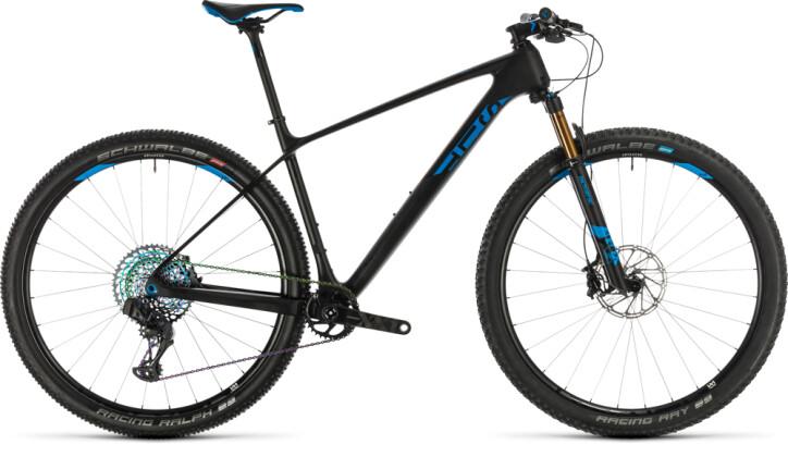 Mountainbike Cube Elite C:68X SLT carbon´n´blue 2020