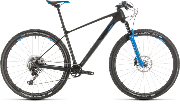 Mountainbike Cube Elite C:68X Race carbon´n´glossy 2020