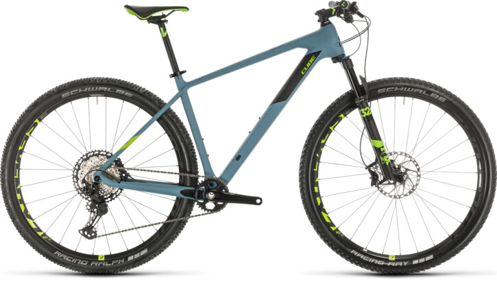 Mountainbike Cube Reaction C:62 SL greyblue´n´green 2020