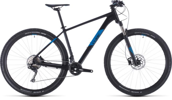 Mountainbike Cube Attention SL black´n´blue 2020