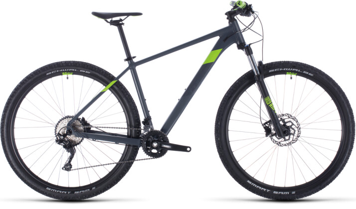 Mountainbike Cube Attention grey´n´green 2020