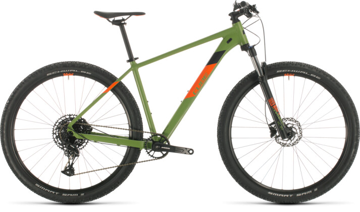 Mountainbike Cube Analog green´n´orange 2020