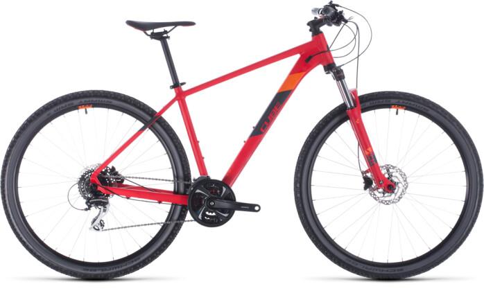 Mountainbike Cube Aim Race red´n´orange 2020