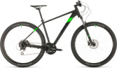 Mountainbike Cube Aim Race black´n´flashgreen