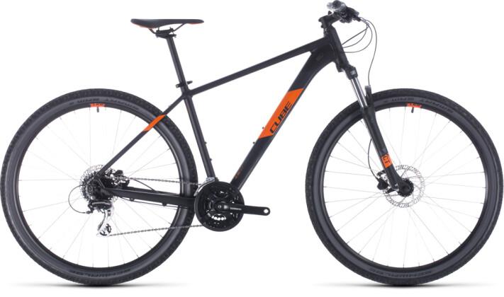 Mountainbike Cube Aim Pro black´n´orange 2020