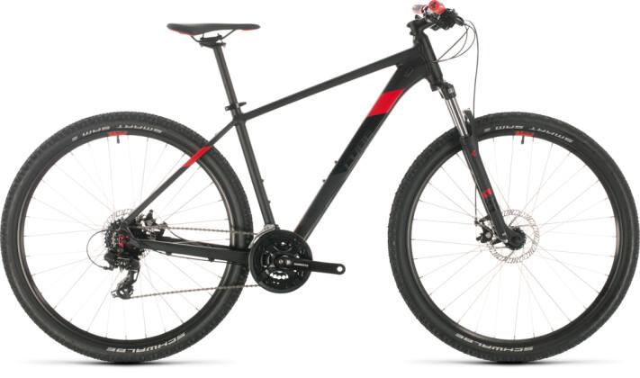 Mountainbike Cube Aim black´n´red 2020