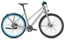 Citybike Univega GEO LIGHT TEN steelgrey Trapez