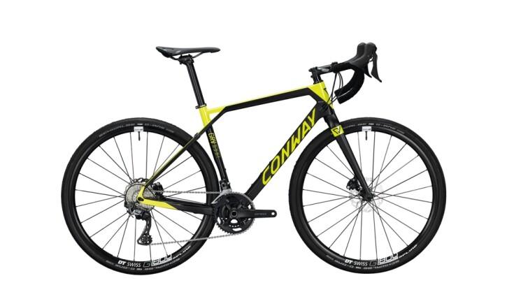 Race Conway GRV 1000 Carbon schwarz,gelb 2020