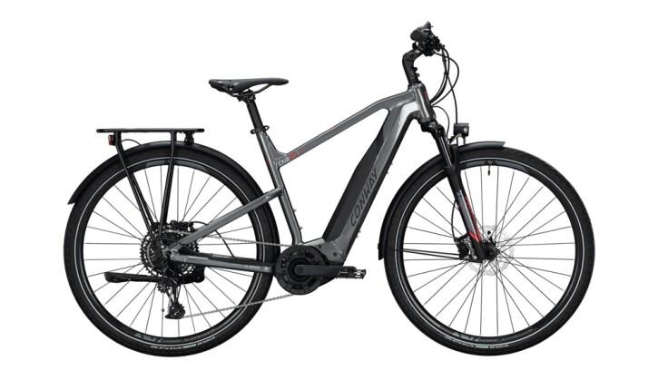E-Bike Conway Cairon T 400 schwarz,grau 2020