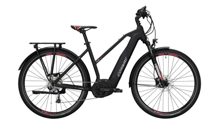 E-Bike Conway Cairon T 200 SE 400 schwarz,rot 2020