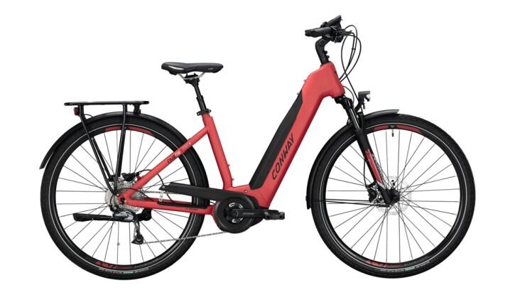E-Bike Conway Cairon T 270 SE 500 schwarz,rot 2020