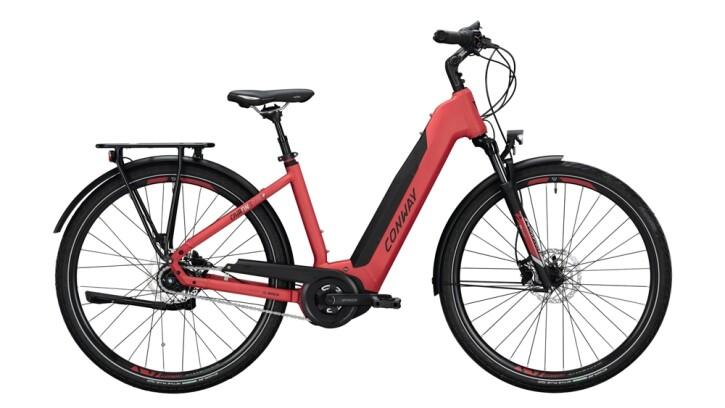 E-Bike Conway Cairon T 270 SE 400 schwarz,rot 2020