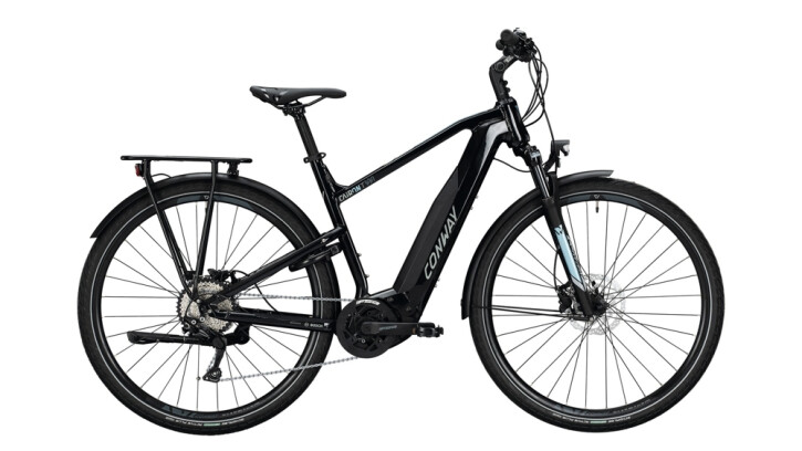 E-Bike Conway Cairon T 300 schwarz,blau 2020