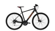 Crossbike Conway CS 300 schwarz,orange