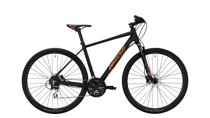 Crossbike Conway CS 300 schwarz,orange 2020
