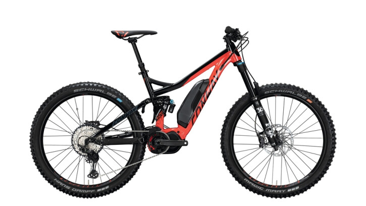 E-Bike Conway eWME 627 schwarz,rot 2020