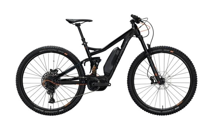 E-Bike Conway eWME 329 schwarz,orange 2020