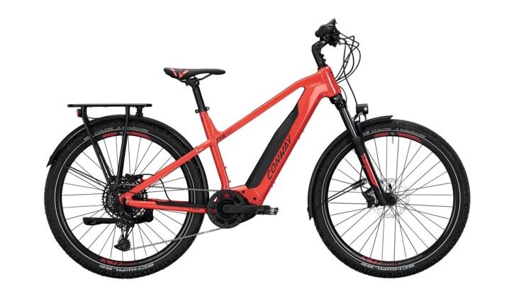 E-Bike Conway Cairon C 627 schwarz,rot 2020