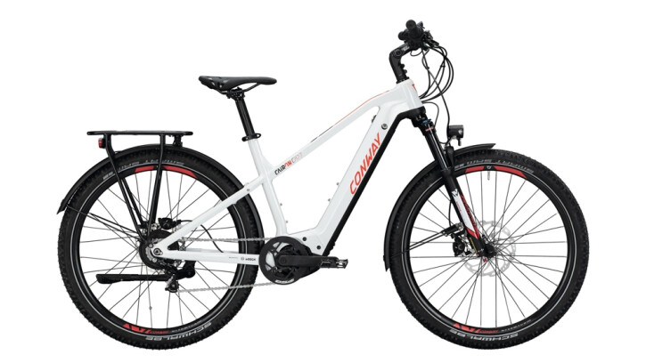 E-Bike Conway Cairon C 827 weiß,rot 2020