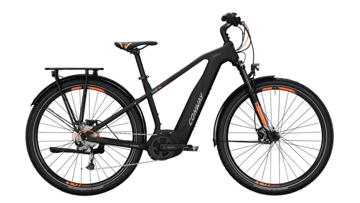 E-Bike Conway Cairon C 229 SE schwarz,orange 2020