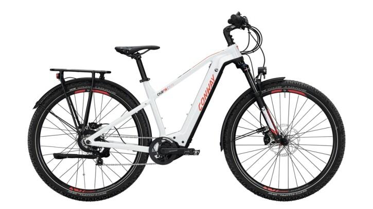 E-Bike Conway Cairon C 829 weiß,rot 2020