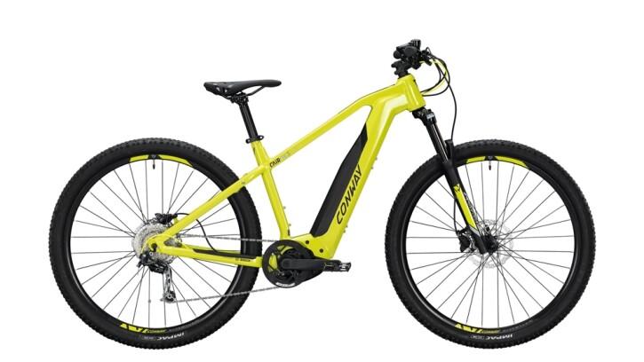 E-Bike Conway Cairon S 229 SE 500 schwarz,gelb 2020