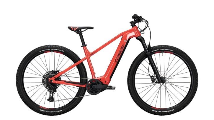 E-Bike Conway Cairon S 629 schwarz,rot 2020