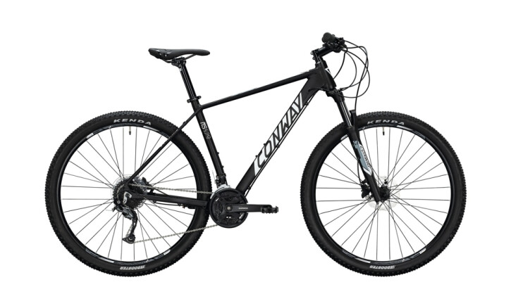 Mountainbike Conway MS 529 schwarz,weiß 2020