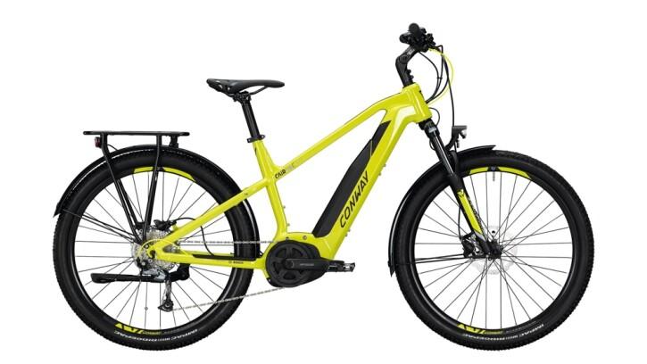 E-Bike Conway Cairon C 227 SE schwarz,gelb 2020
