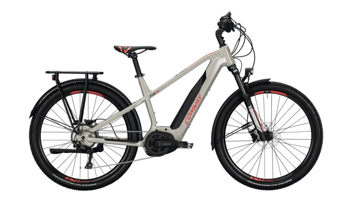 E-Bike Conway Cairon C 327 rot,grau 2020
