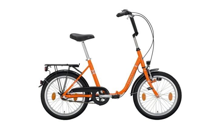 Faltrad Excelsior Klapprad orange 2020