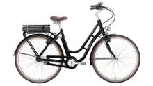 E-Bike Excelsior Swan Retro E schwarz