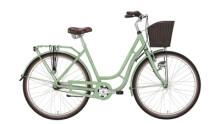 Citybike Excelsior Swan-Retro Alu grün