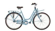 Citybike Excelsior Swan-Retro FT Alu blau