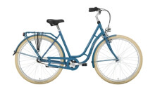 Citybike Excelsior Swan-Retro blau